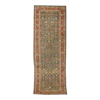 Late 19th Century Antique Persian Sultanabad Gallery Rug