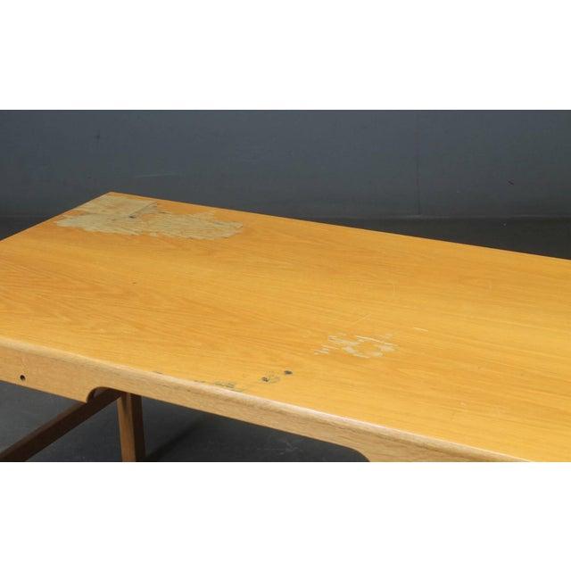Mid-Century Modern Desk of Model Sm70 by Børge Mogensen for Soborg Furniture For Sale - Image 3 of 6