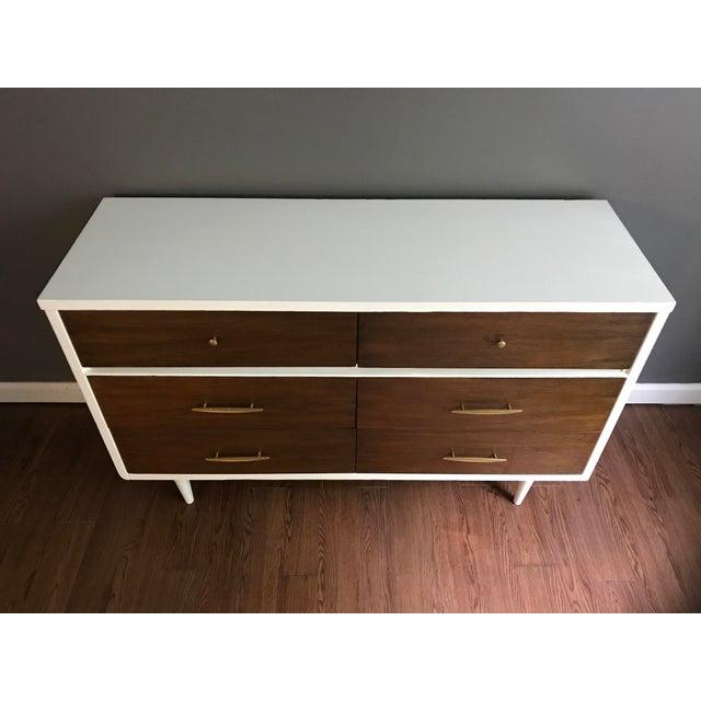 Two-Tone Mid-Century Dresser - Image 6 of 7