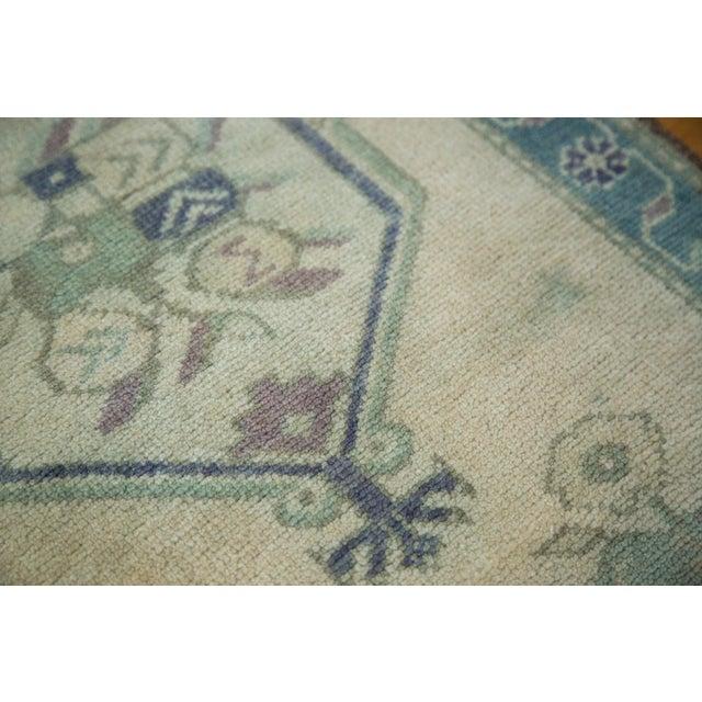 "Islamic Vintage Oushak Rug Mat - 2' x 2'11"" For Sale - Image 3 of 5"