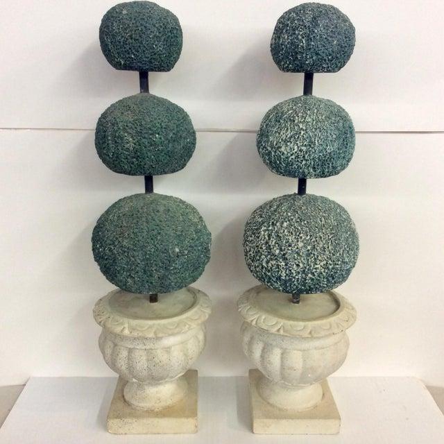 Italian Mid Century Ceramic Topiary - a Pair For Sale In Dallas - Image 6 of 6