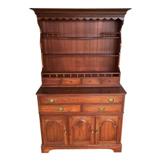 Pennsylvania House Solid Cherry 2 Piece Hutch - Candelight Finish For Sale