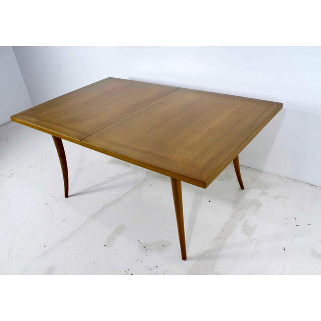 Harvey Probber Saber Leg Table in Bleached Mahogany - Image 8 of 10