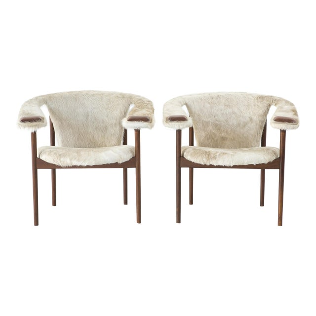 Set of Adrian Pearsall Lounge Chairs - Image 1 of 11