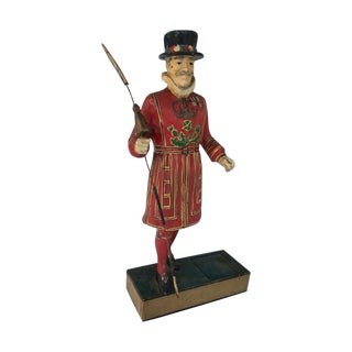 Vintage Beefeaters Gin Bar Display Advertisement Figurine For Sale