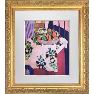 "1940s Vintage Henri Matisse ""Oranges"" Limited Edition Signed Lithograph Print For Sale"