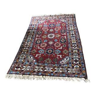 Persian Caucasian Rug - 4′10″ × 8′7″
