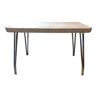 1950s Vintage Walter of Wabash Laminate Table For Sale
