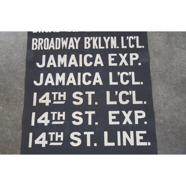 Vintage New York City Subway Scroll - Image 6 of 7
