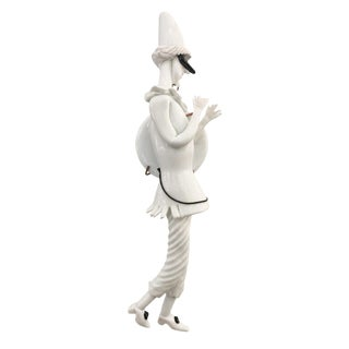 "Venini ""Commedia Dell' Arte"" Figurine by Fulvio Bianconi For Sale"