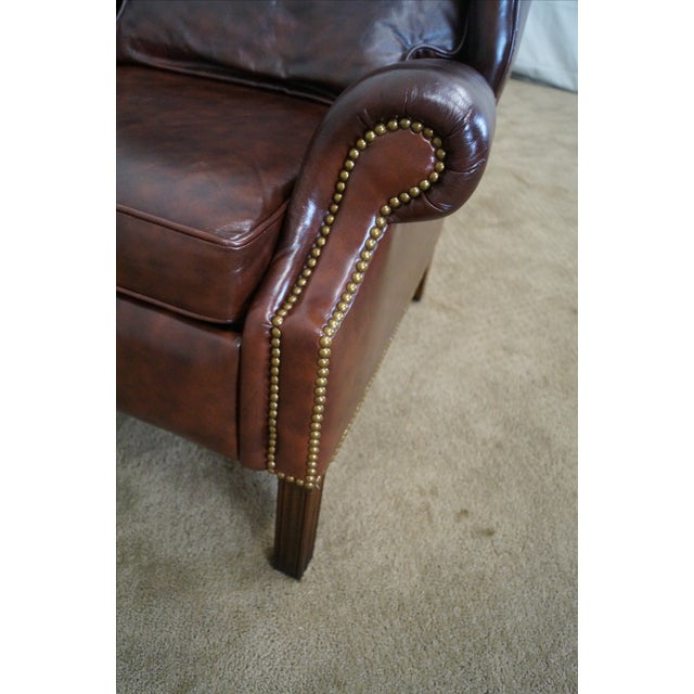 Awe Inspiring Bloomingdales Craftwork Guild Reclining Wing Chair Caraccident5 Cool Chair Designs And Ideas Caraccident5Info