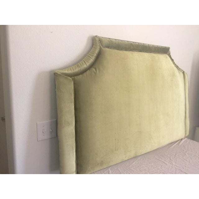 Queen Size Olive Green Headboard - Image 2 of 6