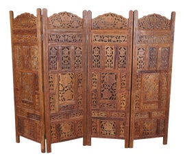 Image of Teak Screens and Room Dividers