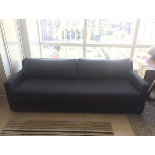 Gus Modern Grey Sleeper Couch - Image 3 of 5