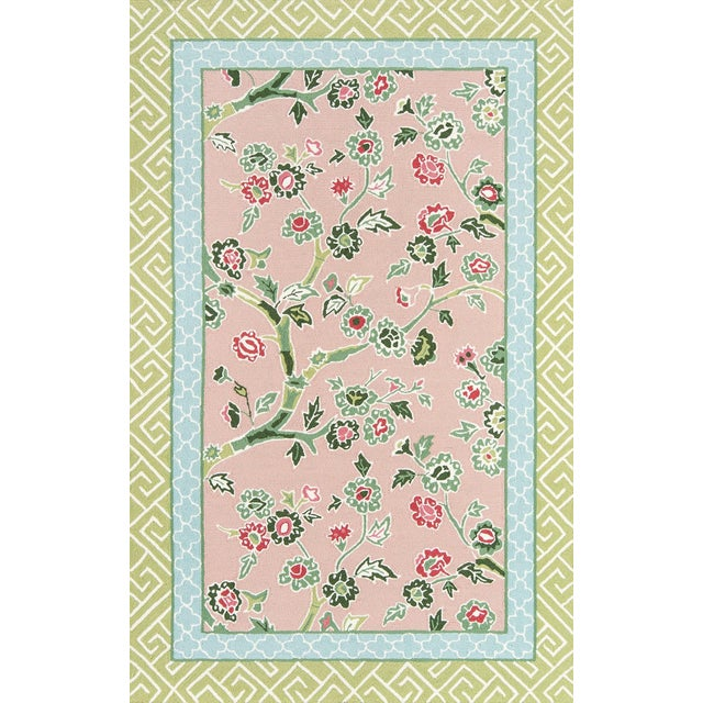 Madcap Cottage Under a Loggia Blossom Dearie Multi Indoor/Outdoor Area Rug 8' X 10' For Sale