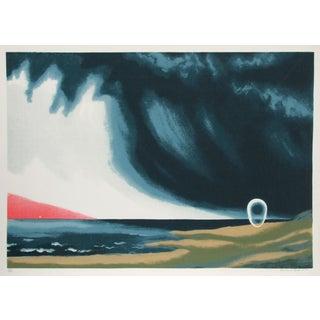 Clarence Holbrook Carter, Eschatos 23, Serigraph For Sale