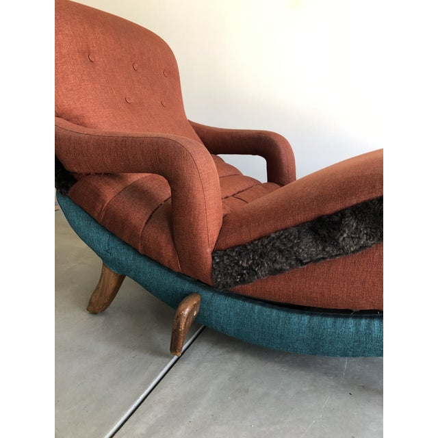 1950's Contour Recliner Lounge Chair For Sale - Image 4 of 8