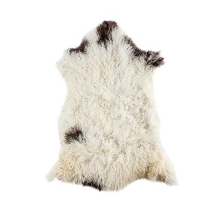"Contemporary Natural Wool Sheepskin Pelt - 2'6""x3'5"""