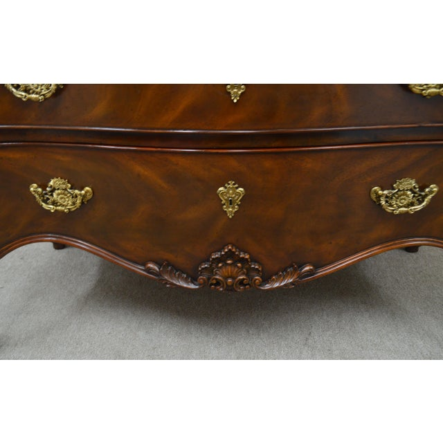 Maitland Smith Mahogany Chippendale Dresser Chest Commode For Sale In Philadelphia - Image 6 of 13