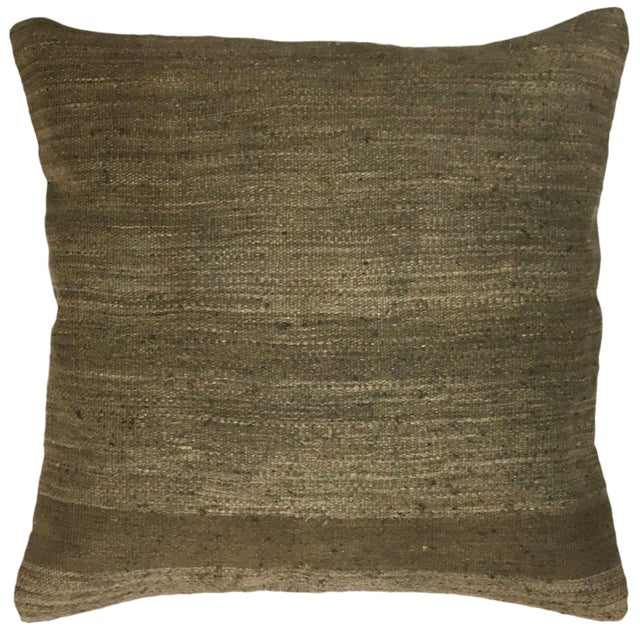 """Rug & Relic Natural Kilim Pillow 