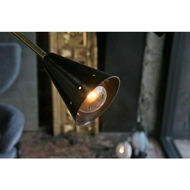 Brass Oversized Italian Sputnik Light For Sale - Image 7 of 9
