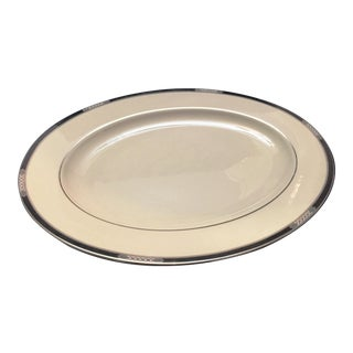 Lenox Hancock Platinum Serving Plate For Sale