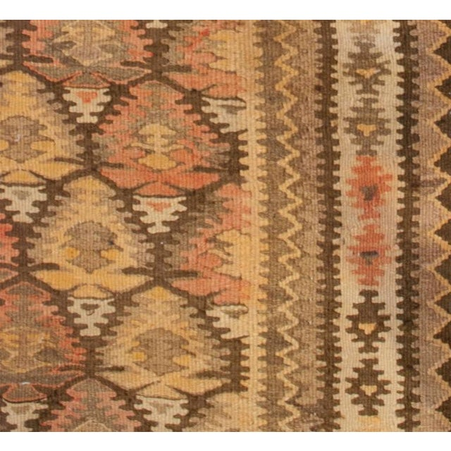 Early 20th Century Qazvin Runner - 3′8″ × 14′ For Sale In Chicago - Image 6 of 6