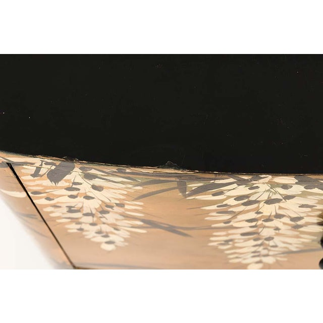 Pair of Gold Lacquered Chinese Chests For Sale - Image 9 of 13