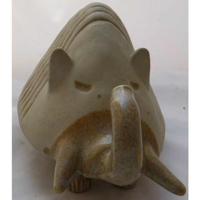 Danish-Style Armadillo Pottery Bank - Image 10 of 11