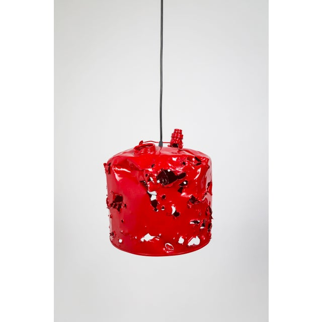 Gas Can Pendant Light by Charles Linder For Sale - Image 4 of 10