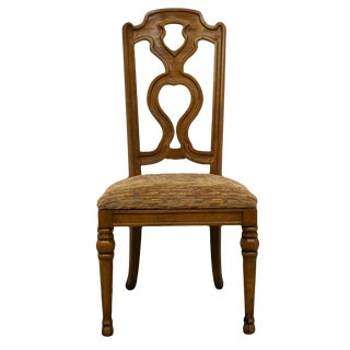 Drexel Heritage Spanish Revival Dining Side Chair For Sale