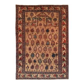 Rust Tabriz Persian Area Rug For Sale
