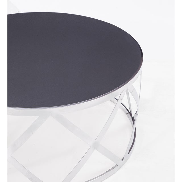 2010s Blink Home Black Cocktail Table For Sale - Image 5 of 5