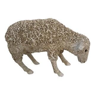 Fiberglass Lamb Sculpture