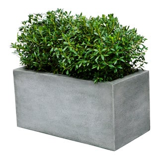 Gotham Rectangle Planter, Large For Sale