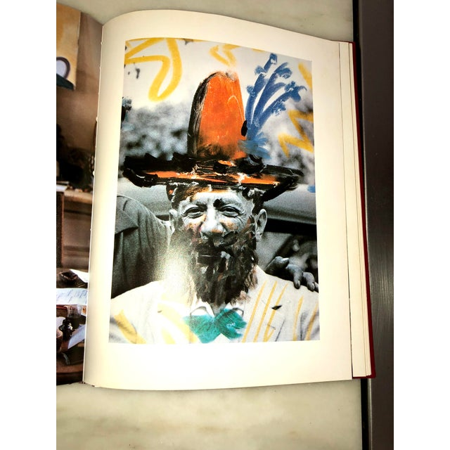 """Textile Vintage 1980 """"Viva Picasso"""" Coffee Table Studio Book For Sale - Image 7 of 13"""