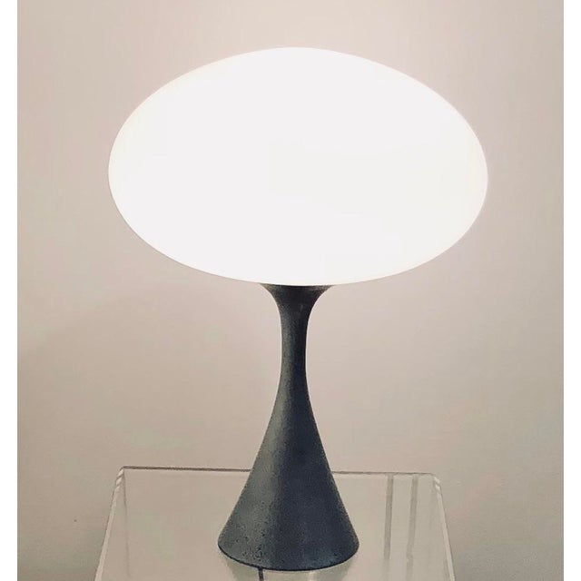 Aluminum Laurel Mushroom Lamp by Bill Curry For Sale - Image 7 of 7