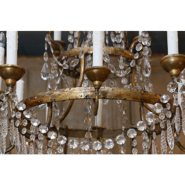 Large-Scale Neoclassical Chandelier For Sale - Image 12 of 13
