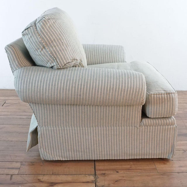 2010s Michael Thomas Armchairs and Ottoman- 3 Pieces For Sale - Image 5 of 13