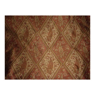 Kravet Couture Harlequin Paisley Java Persian Silk Upholstery Fabric - 17 Yards For Sale