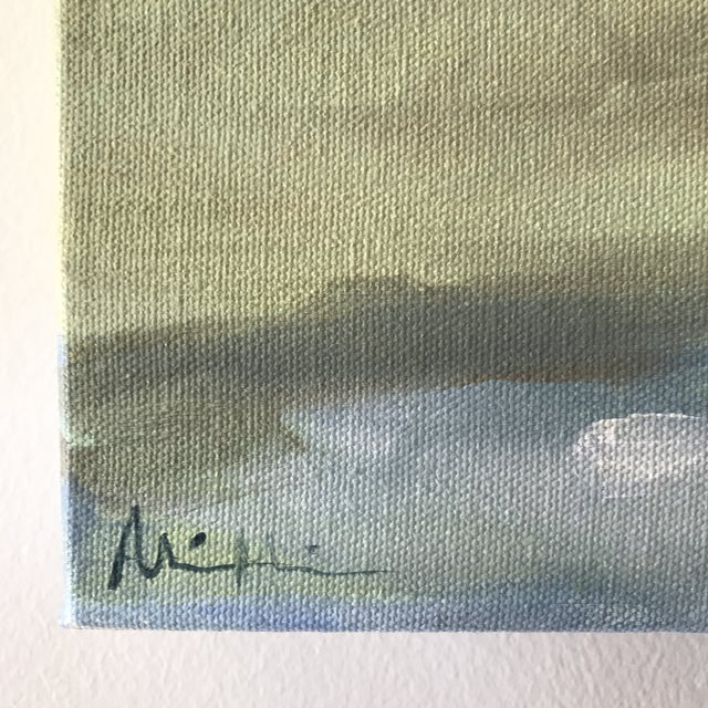 """Contemporary Impressionist Acrylic Painting """"Spring Tide"""" by Alice Miles For Sale - Image 3 of 5"""
