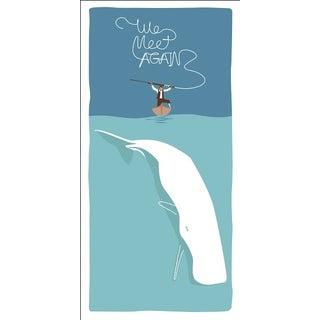 2019 Modern Retro Poster, We Meet Again - Whale vs Spear (Smaller) Preview
