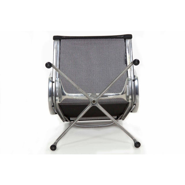Metal Charles and Ray Eames for Herman Miller Aluminum Group Lounge Chair For Sale - Image 7 of 13