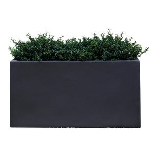 Bramley Rectangle Planter, Extra Large, Lead Lite For Sale