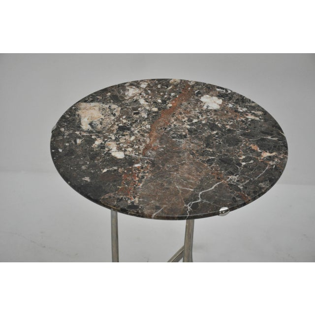 Mid-Century Modern Cedric Hartman Side Tables For Sale - Image 3 of 10
