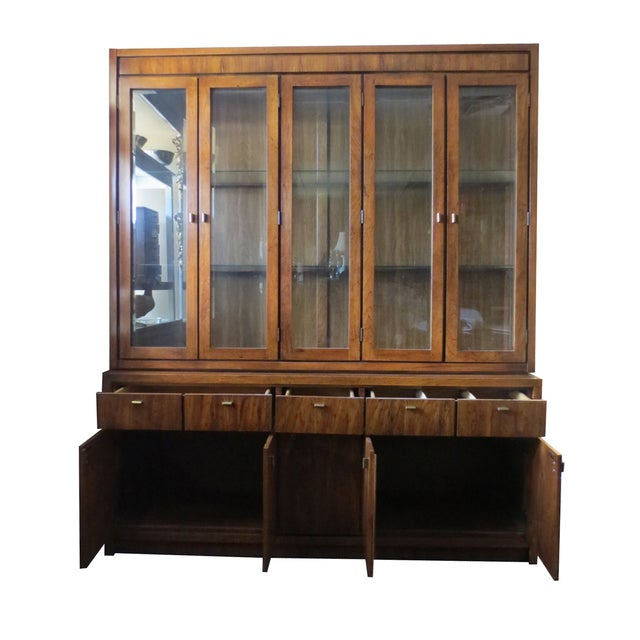 Beveled Glass China Display Cabinet - Image 3 of 7