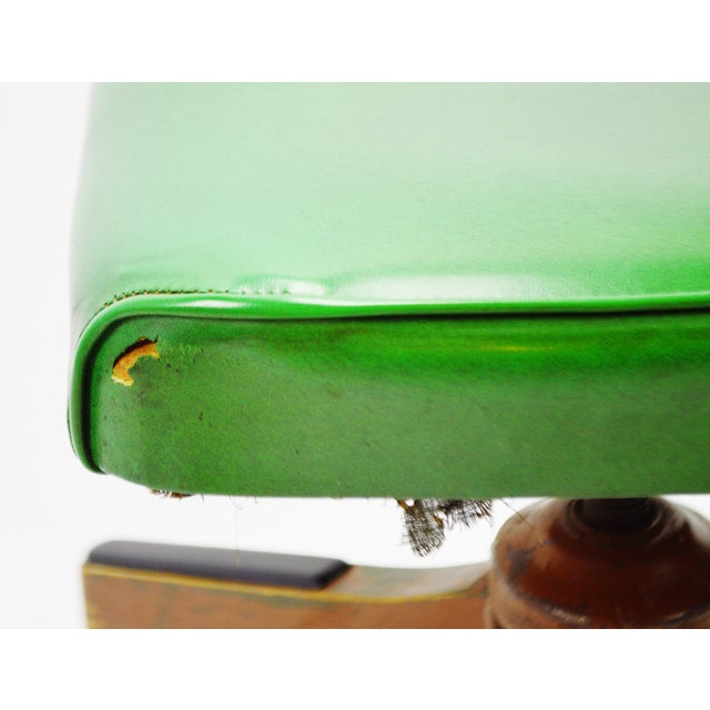 Green Taylor Chair Company Mid-Century Adjustable Desk Chair For Sale - Image 8 of 11