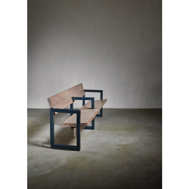 1960s Gerrit Rietveld Church Pew For Sale - Image 5 of 5