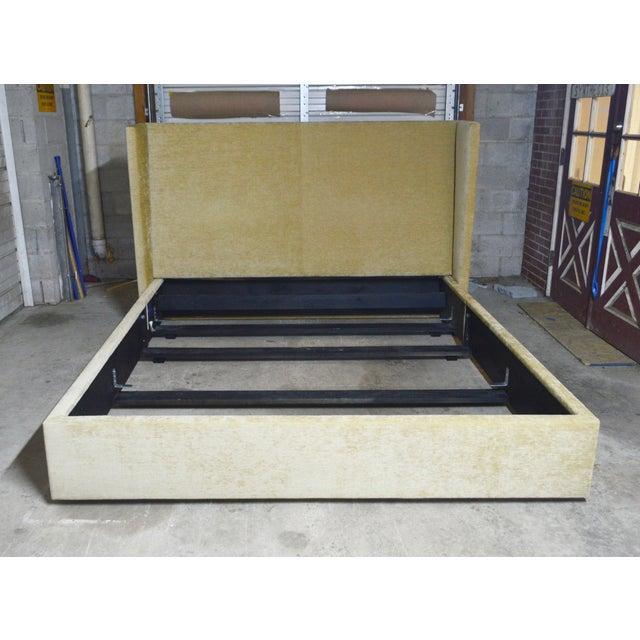 Ralph Lauren Upholstered King Bed For Sale - Image 9 of 10