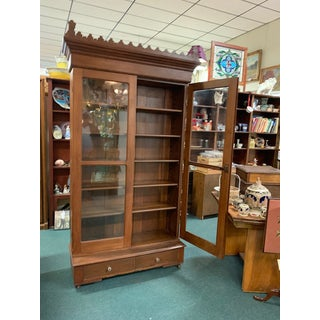 19th Century Gothic Revival Cabinet With Glass Door Preview